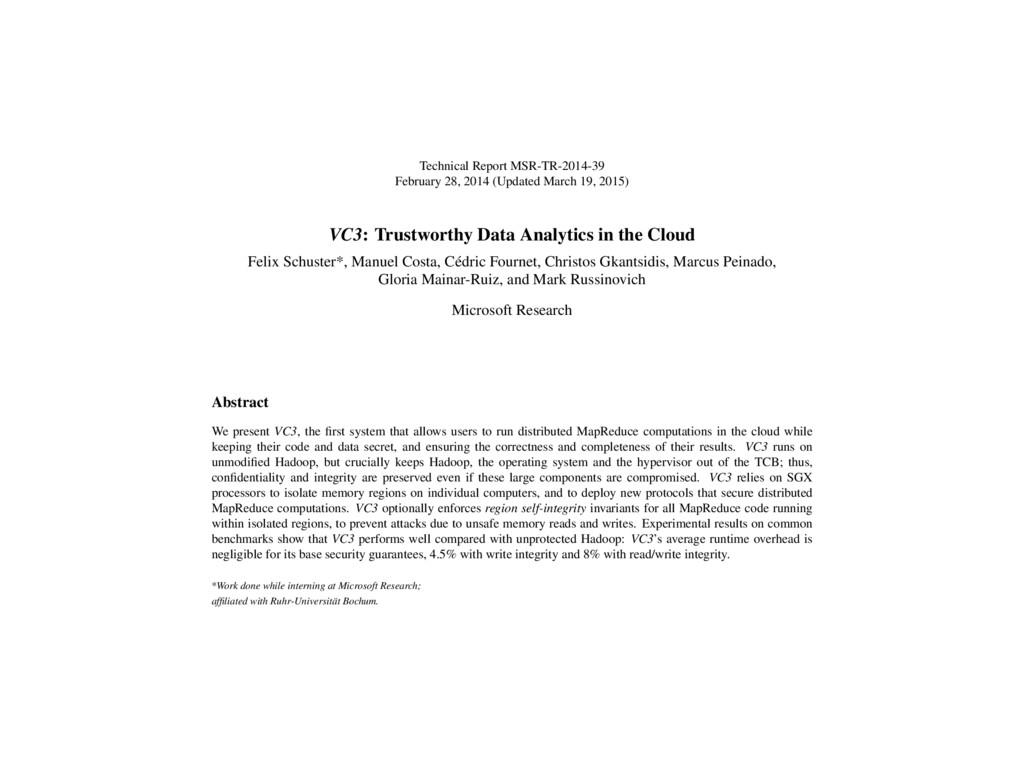 Technical Report MSR-TR-2014-39 February 28, 20...