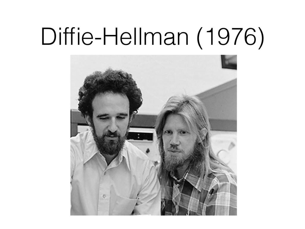 Diffie-Hellman (1976)