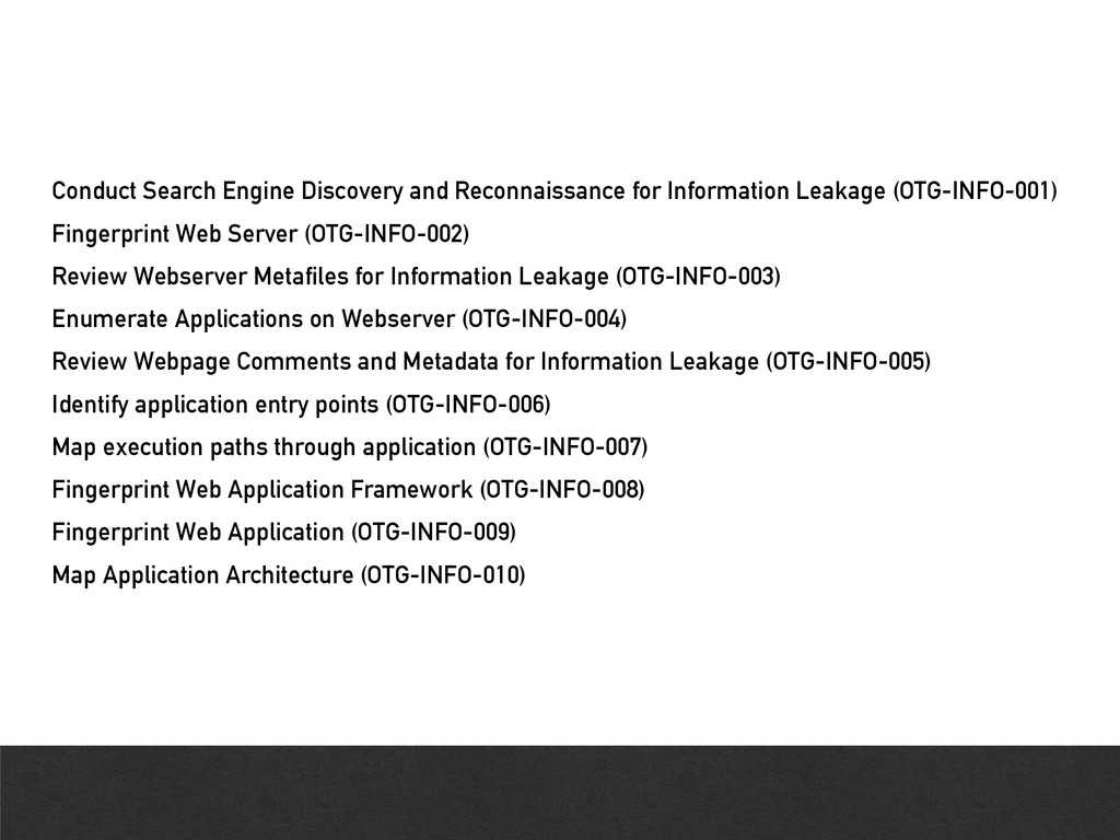 Conduct Search Engine Discovery and Reconnaissa...