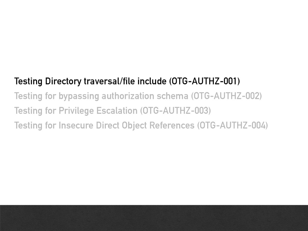 Testing Directory traversal/file include (OTG-A...