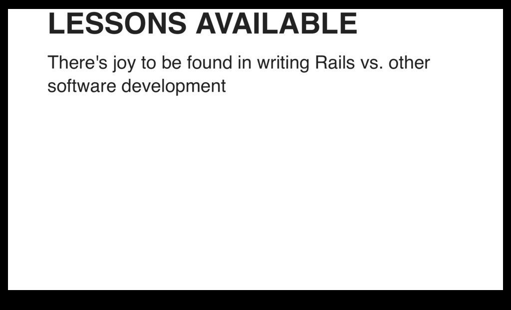 LESSONS AVAILABLE There's joy to be found in wr...