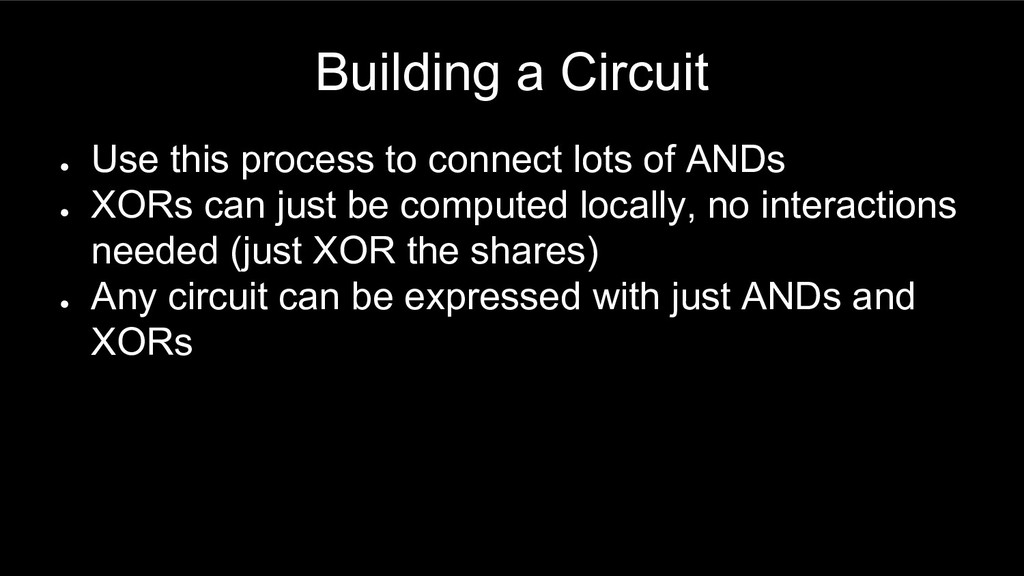 Building a Circuit ● Use this process to connec...