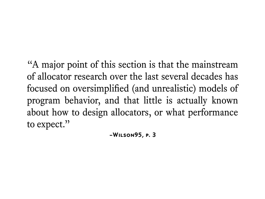 """–Wilson95, p. 3 """"A major point of this section ..."""