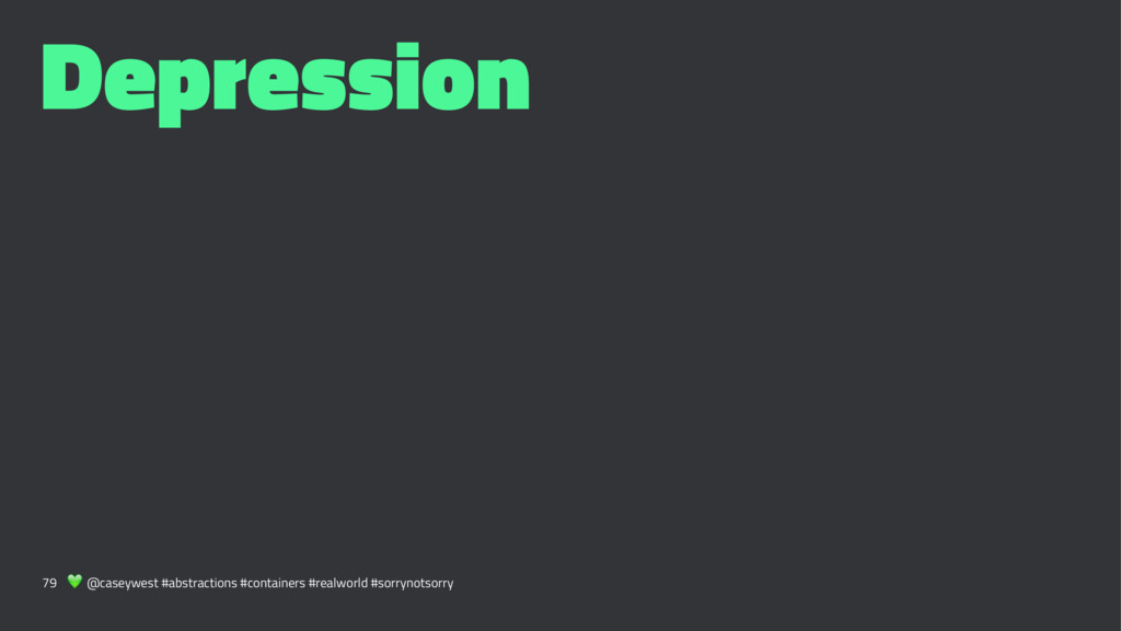 Depression 79 ! @caseywest #abstractions #conta...