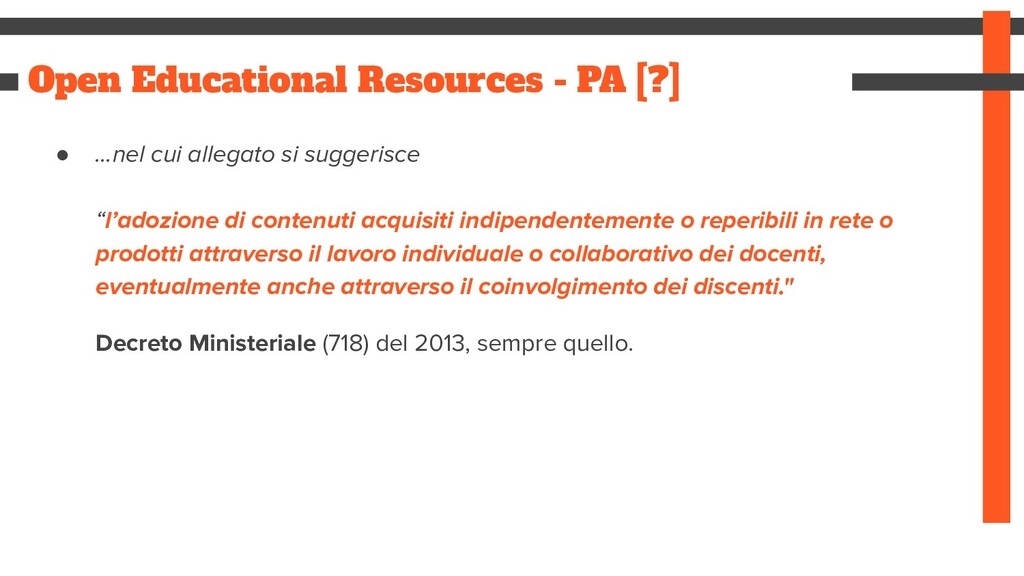 Open Educational Resources - PA [?] ● ...nel cu...