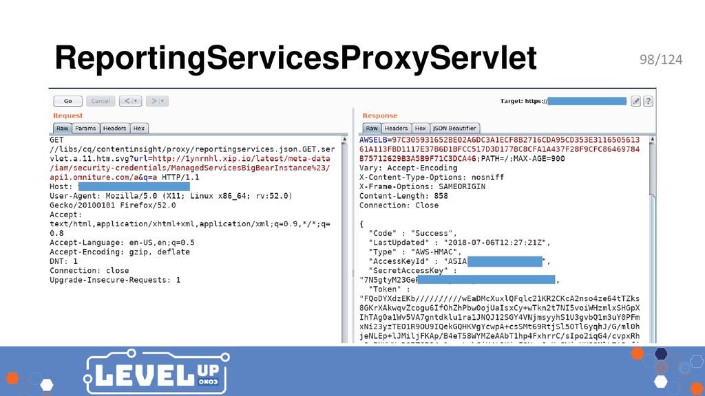 ReportingServicesProxyServlet 98/124