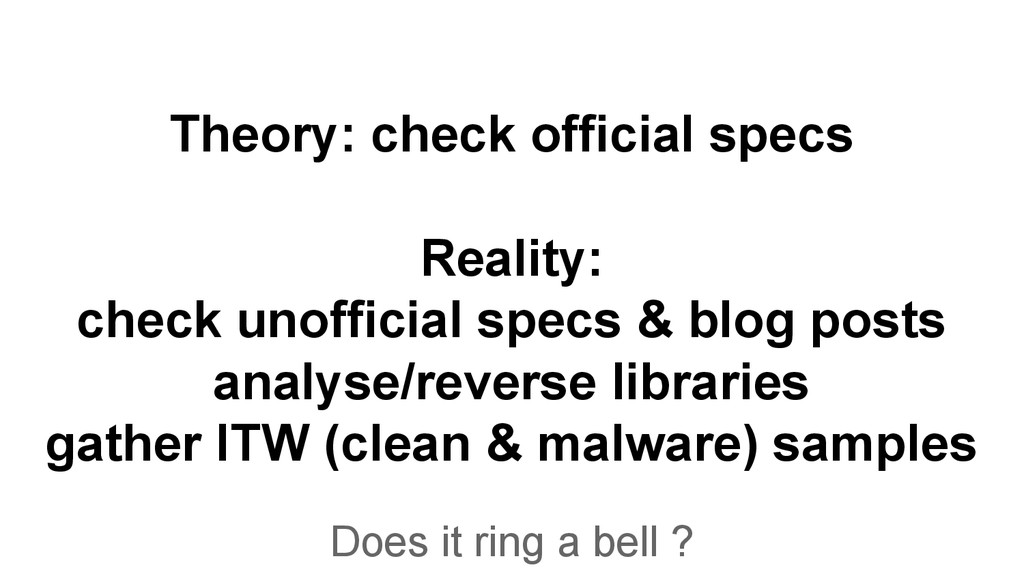 Theory: check official specs Reality: check uno...