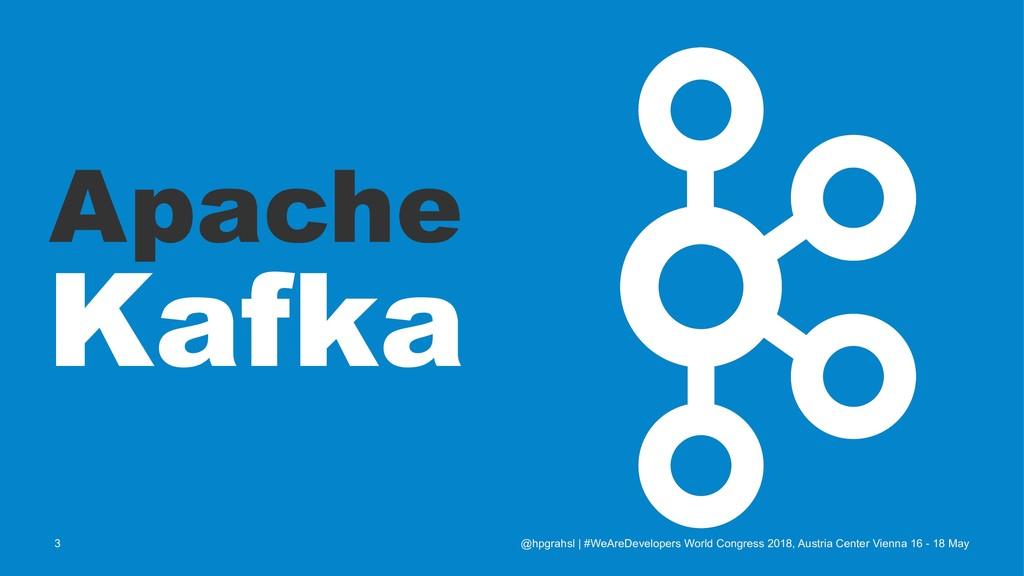 Apache Kafka @hpgrahsl   #WeAreDevelopers World...