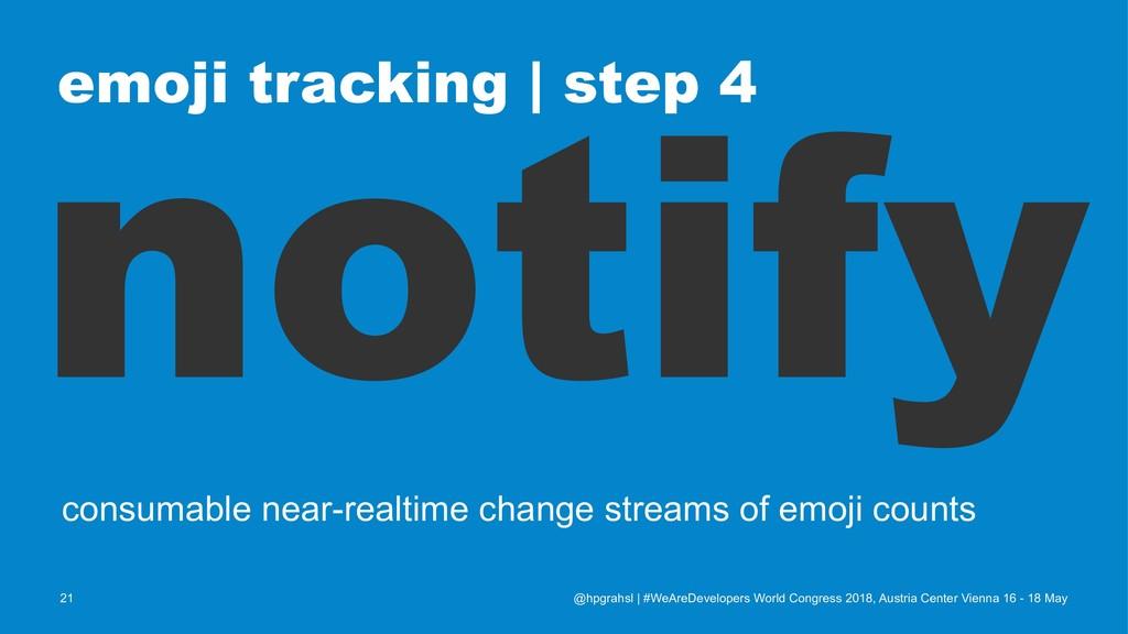 emoji tracking   step 4 notify consumable near-...