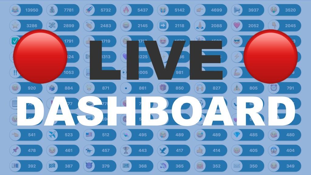 ! LIVE DASHBOARD