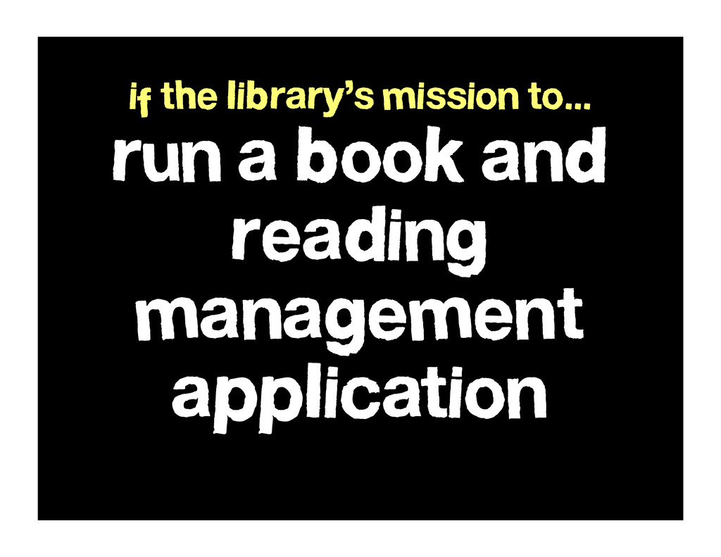run a book and reading management application i...