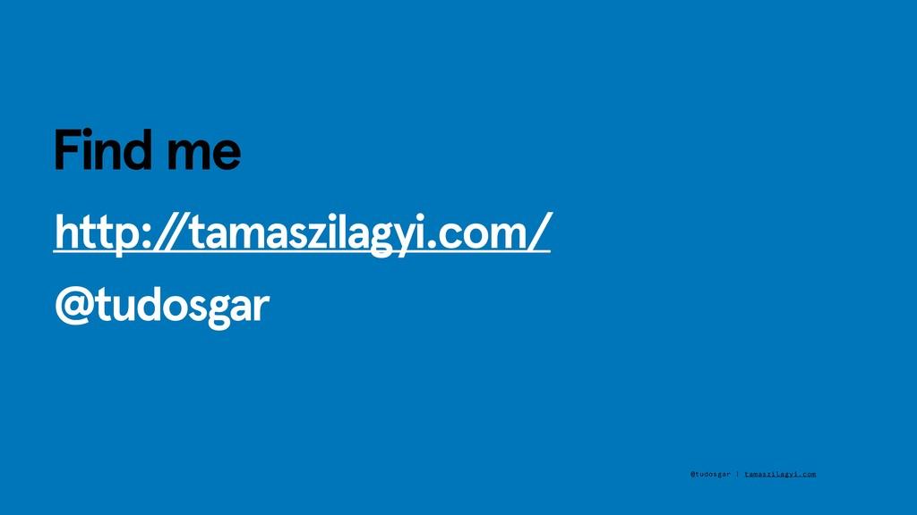http:/ /tamaszilagyi.com/ @tudosgar @tudosgar |...