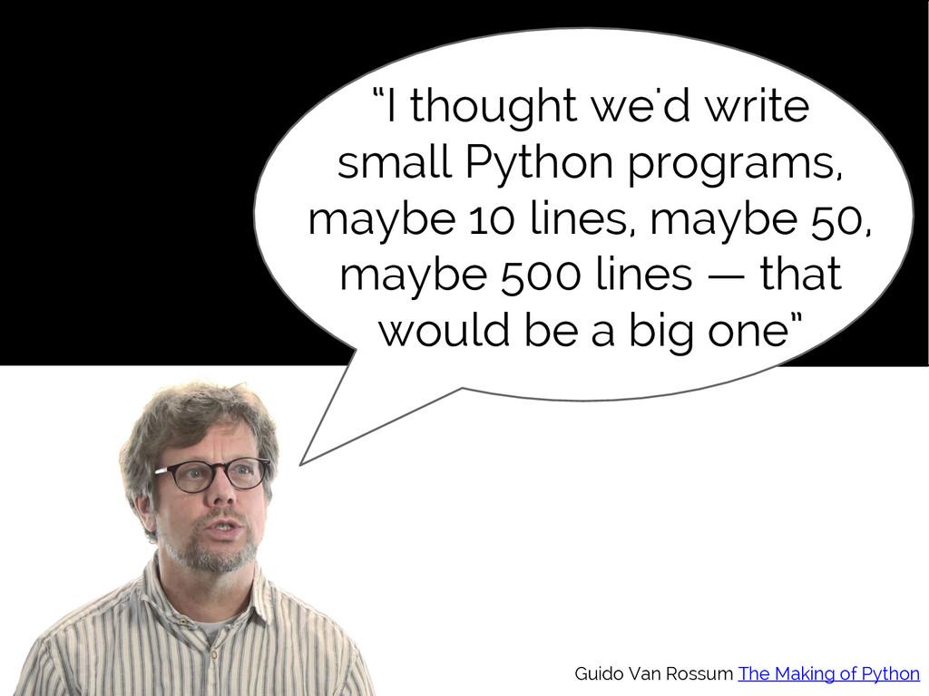 "#SciPy2015 Jake VanderPlas ""I thought we'd writ..."