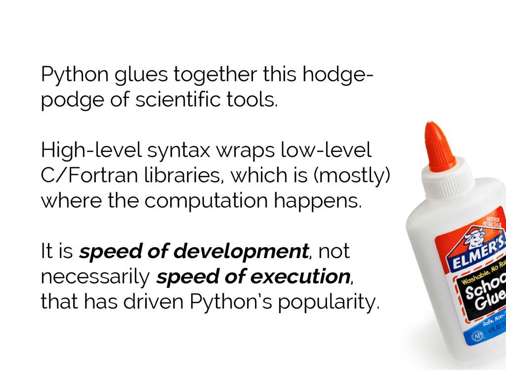 #SciPy2015 Jake VanderPlas Python glues togethe...