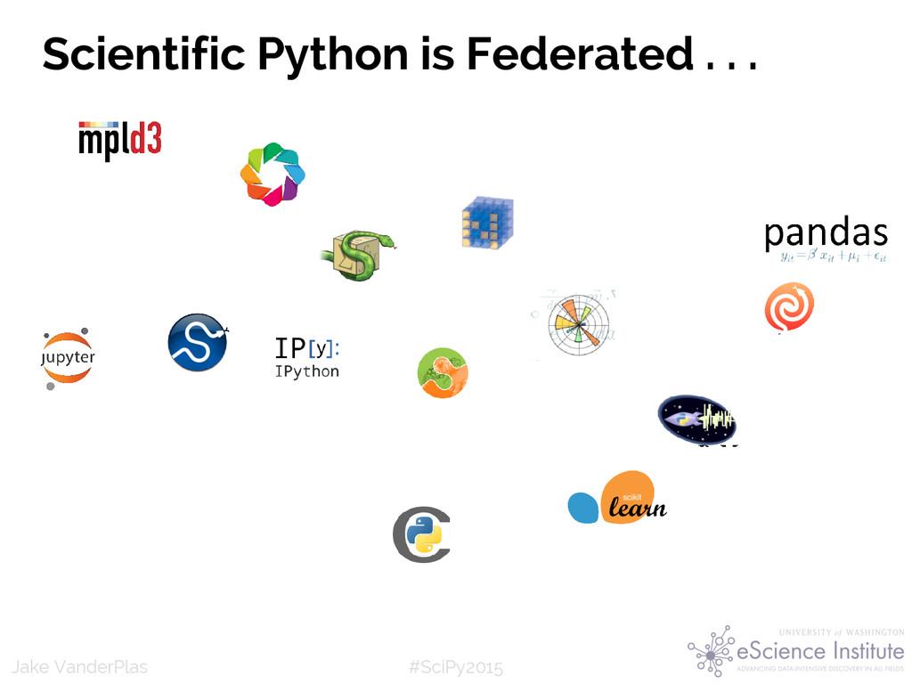 #SciPy2015 Jake VanderPlas (Python as glue: you...
