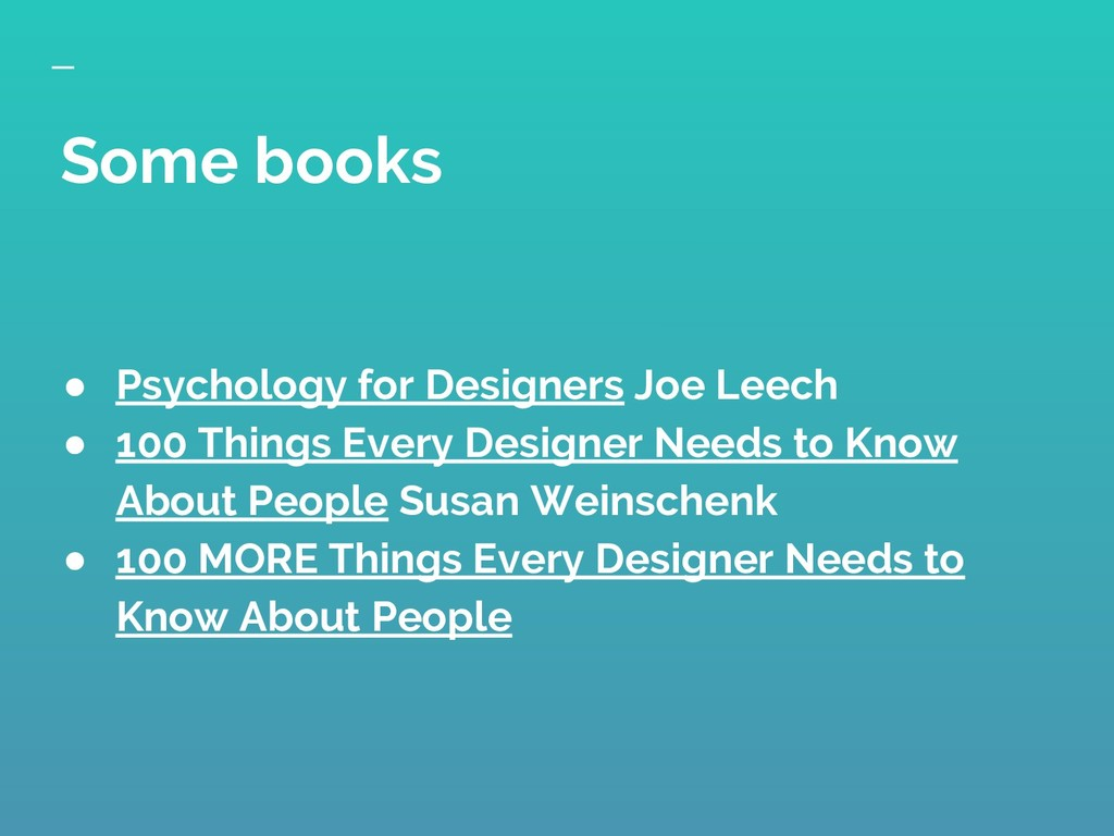 ● Psychology for Designers Joe Leech ● 100 Thin...
