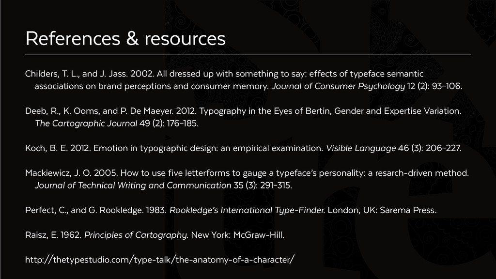 Six References & resources Childers, T. L., and...