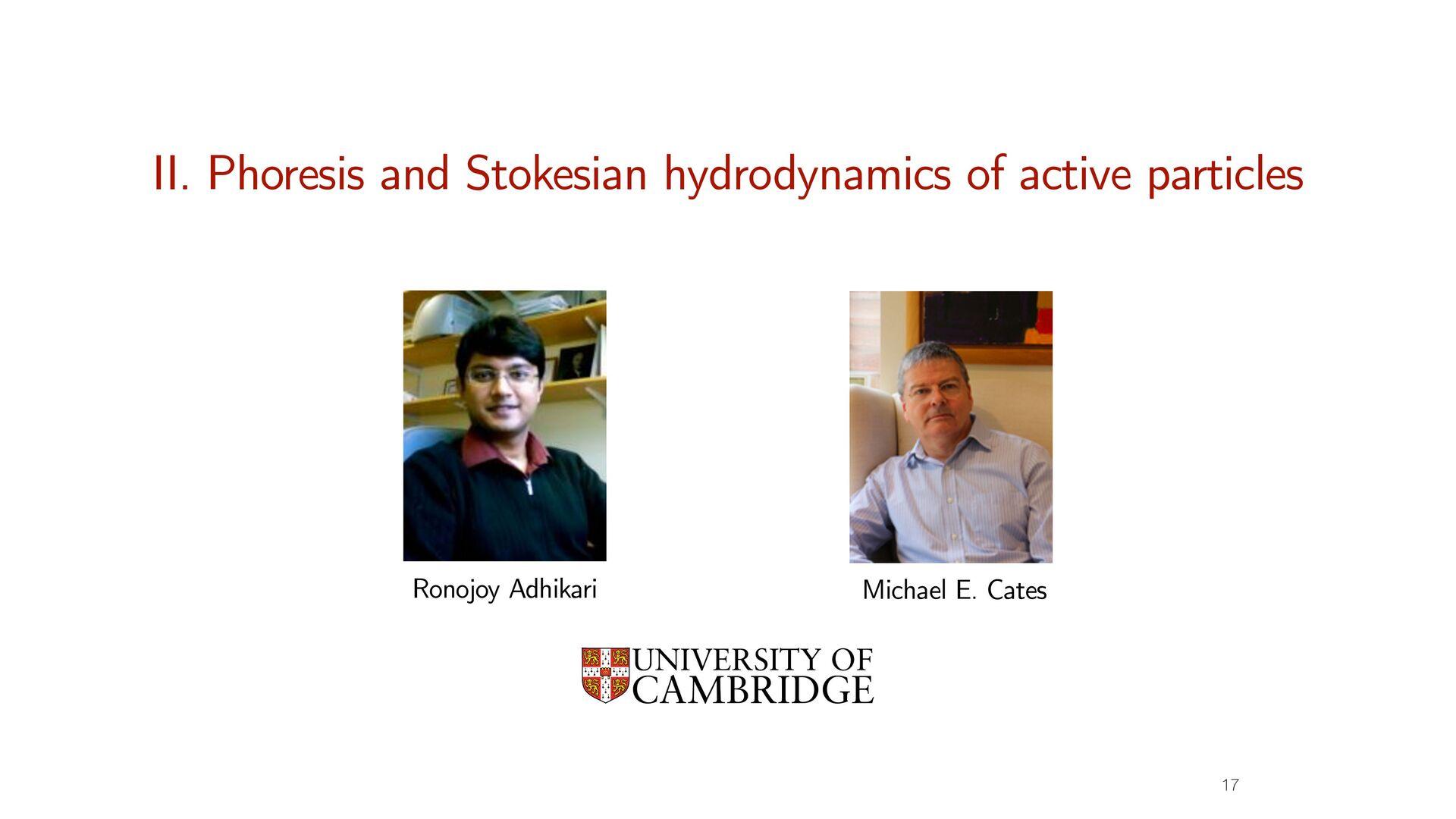15 Activity in di ff usive sector Cates and Tjh...