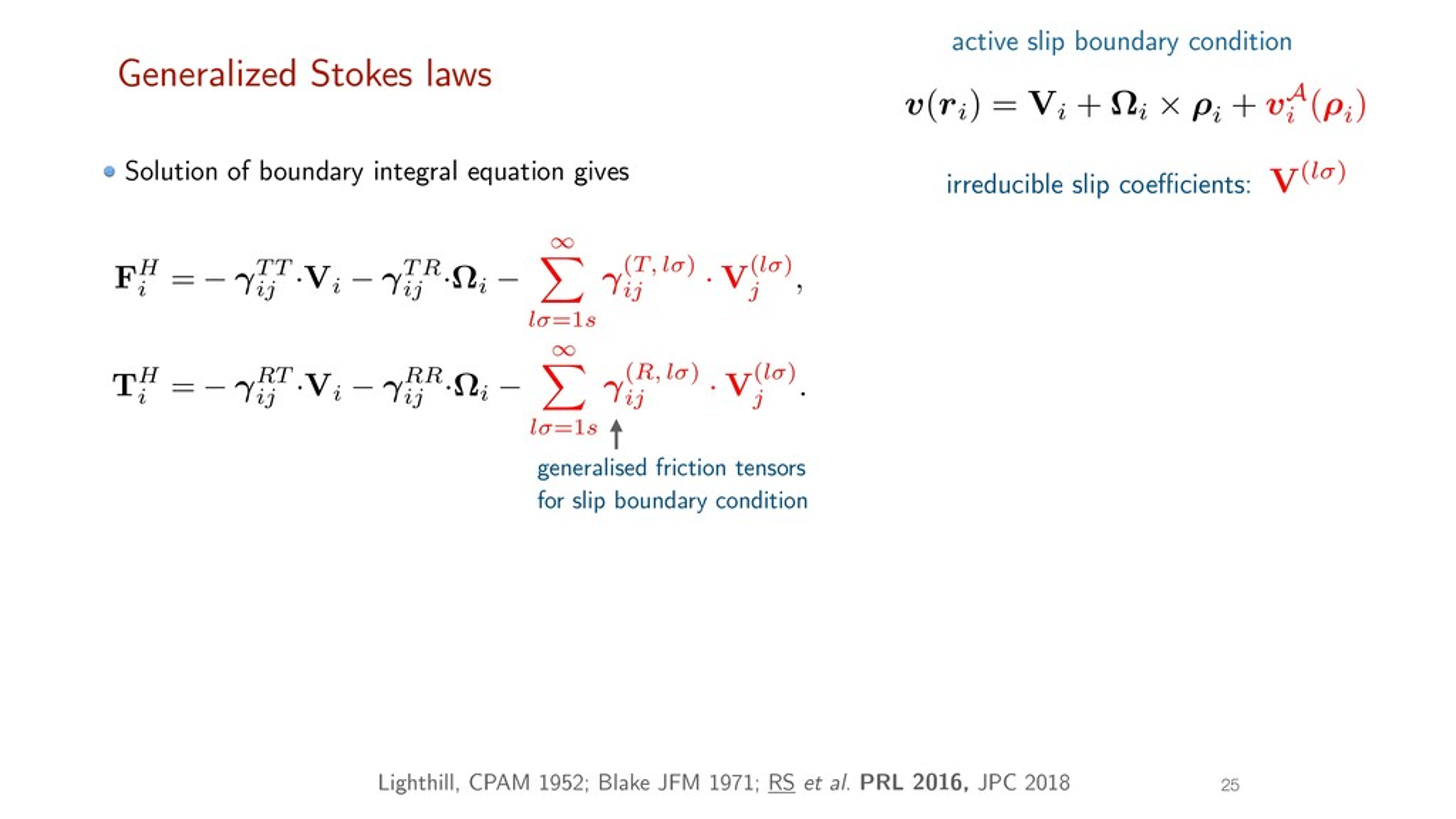 25 FH i = T T ij ·V i T R ij ·⌦ i 1 X l =1s (T,...