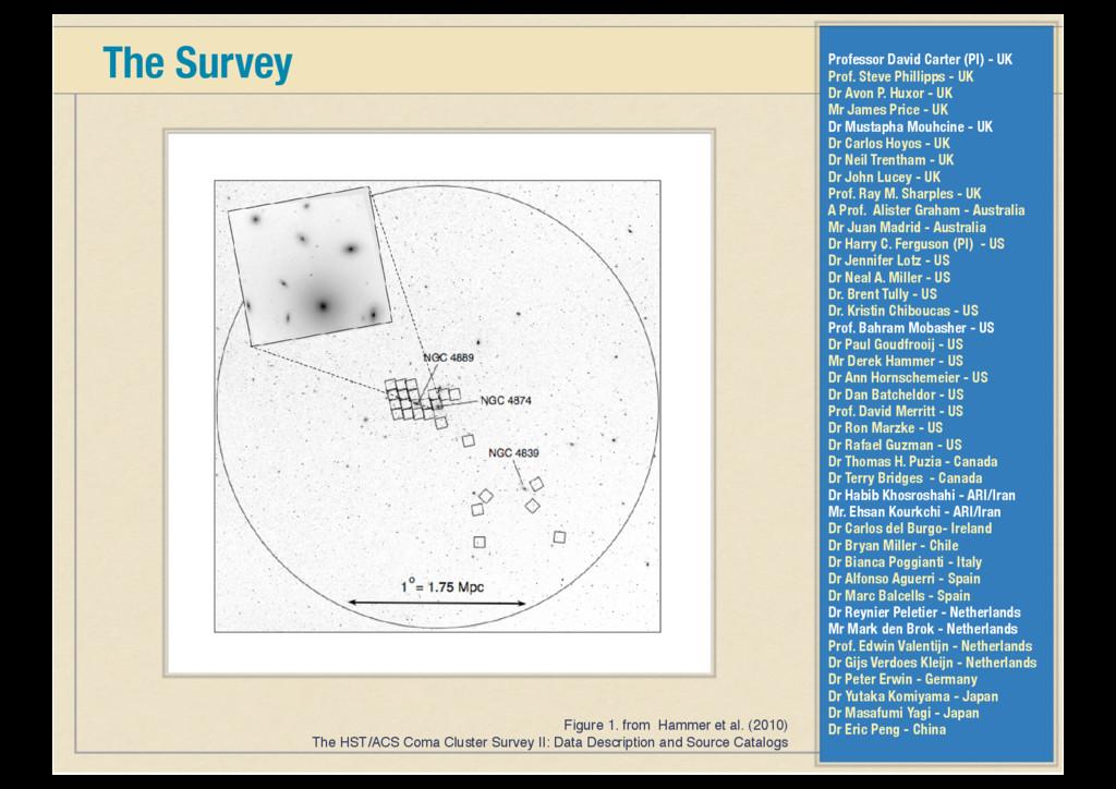 The Survey Figure 1. from Hammer et al. (2010) ...