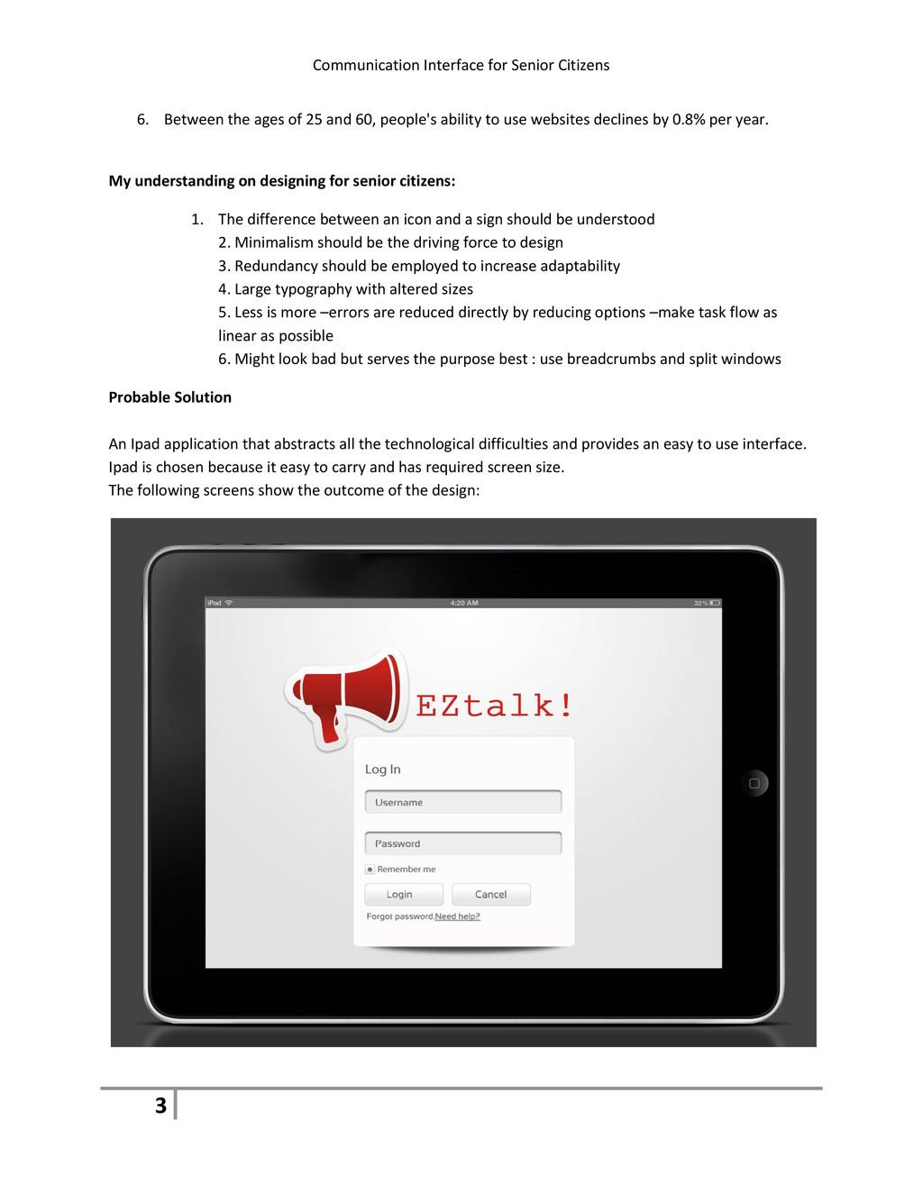 Communication Interface for Senior Citizens 3 6...