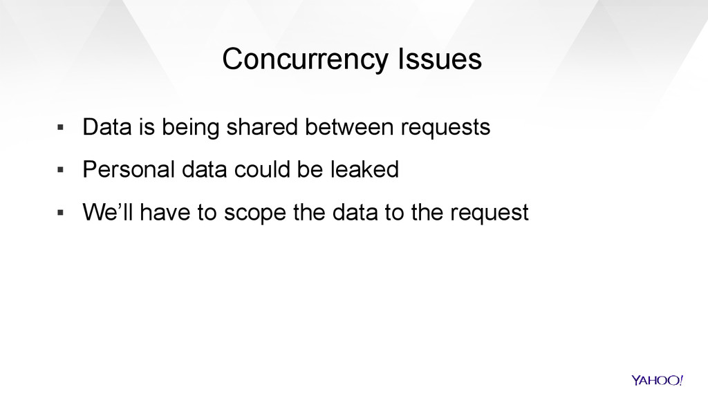 Concurrency Issues ▪ Data is being shared betwe...