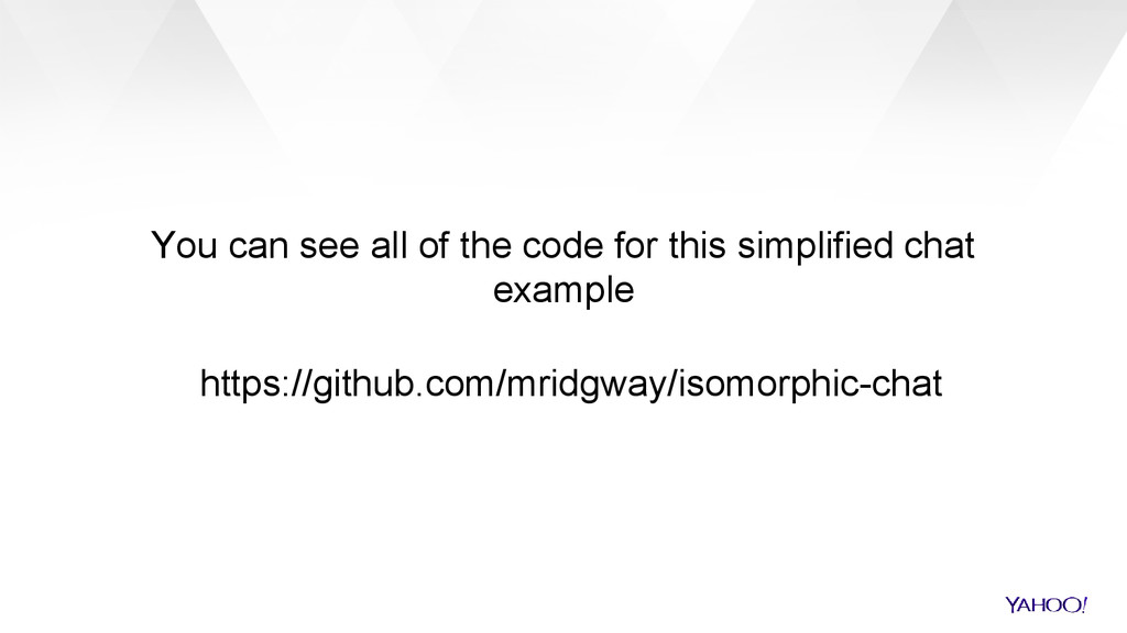 You can see all of the code for this simplified...