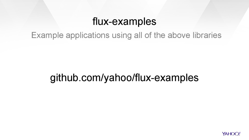 flux-examples Example applications using all of...