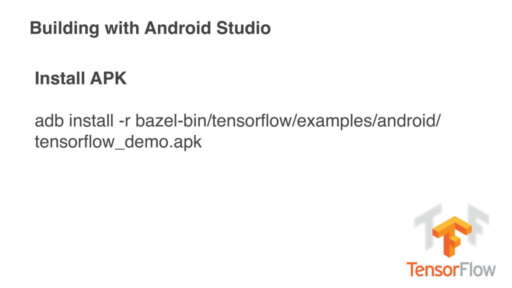 Building with Android Studio Install APK adb in...