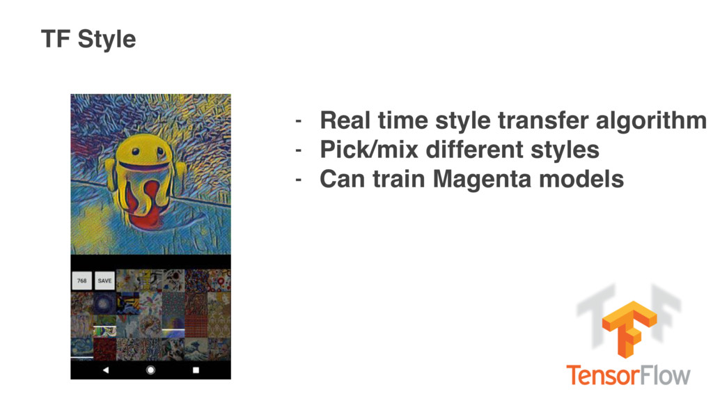 TF Style - Real time style transfer algorithm -...