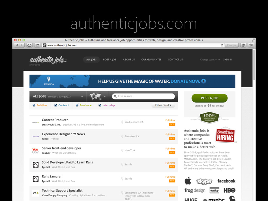 authenticjobs.com