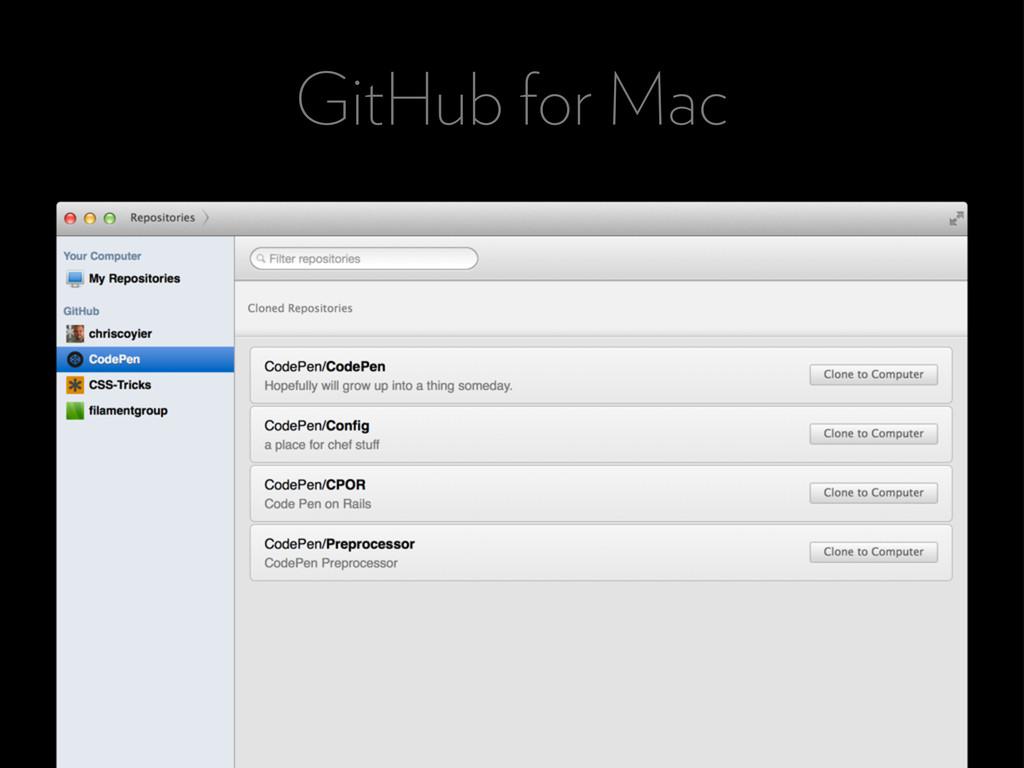 GitHub for Mac