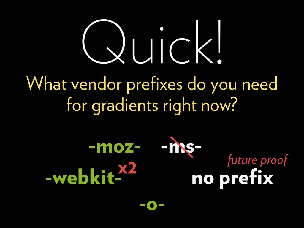 -ms- Quick! What vendor prefixes do you need for...
