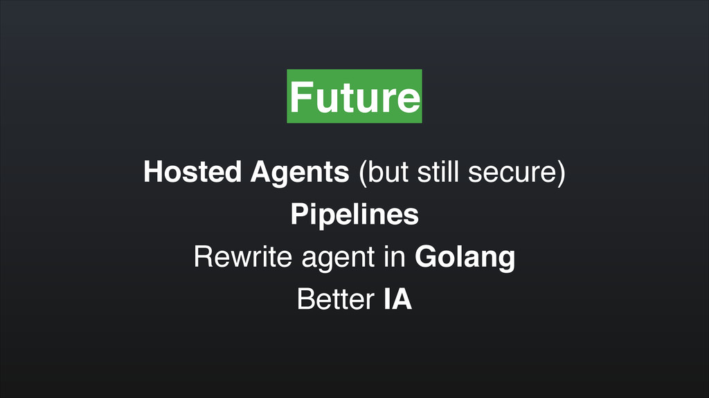 Future Hosted Agents (but still secure)! Pipeli...