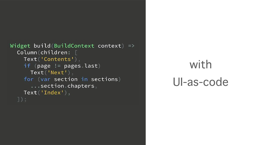 with UI-as-code