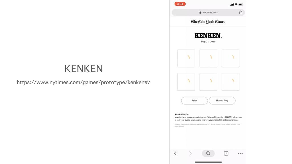 KENKEN https://www.nytimes.com/games/prototype/...