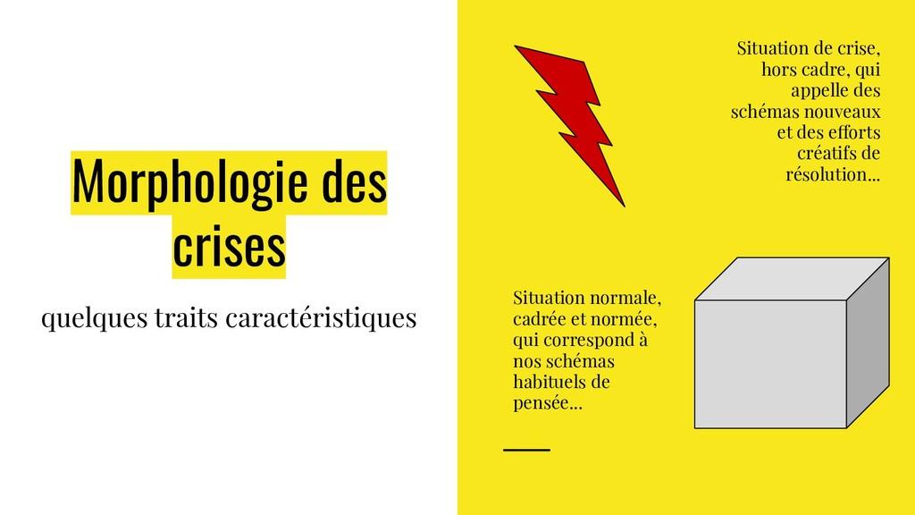 Morphologie des crises quelques traits caractér...