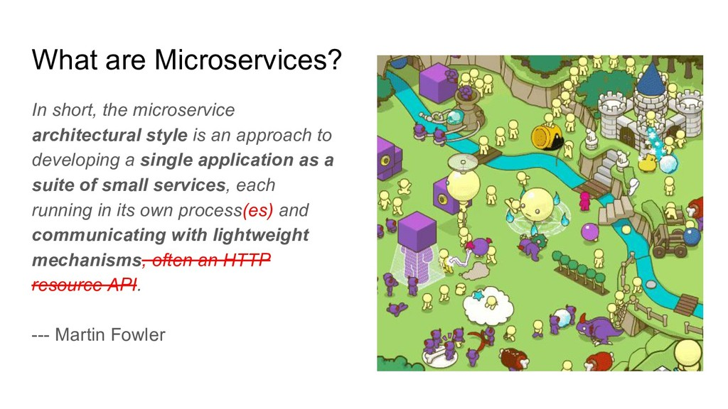 What are Microservices? In short, the microserv...