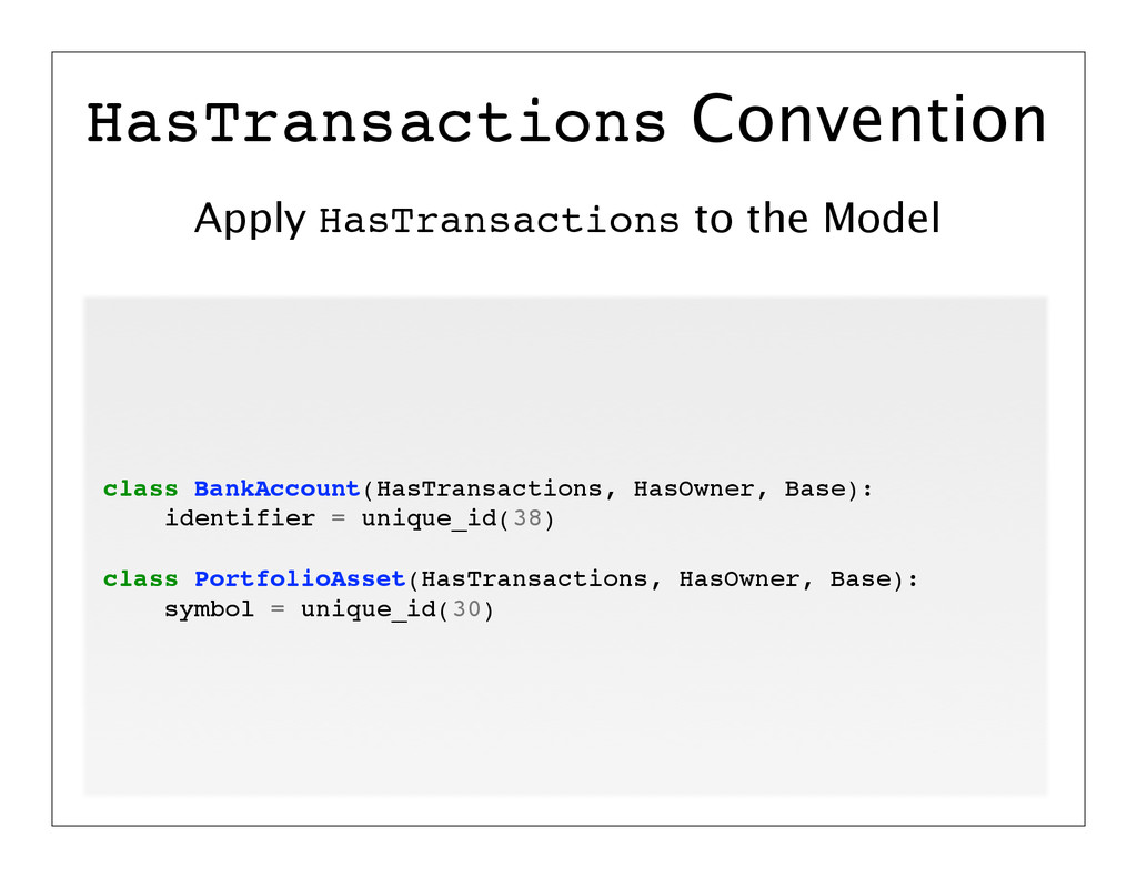 Apply HasTransactions to the Model HasTransacti...