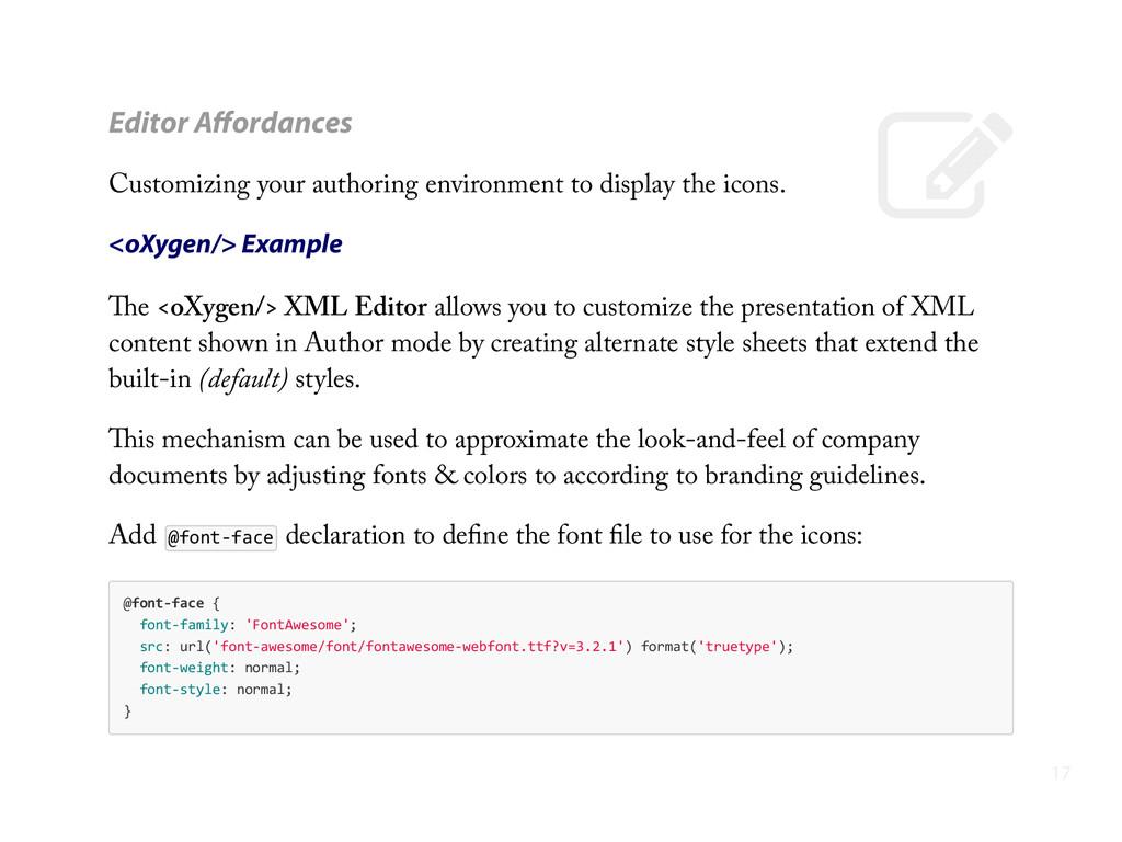 - Editor Affordances Customizing your authoring ...
