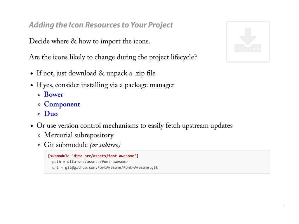 ' Adding the Icon Resources to Your Project Dec...
