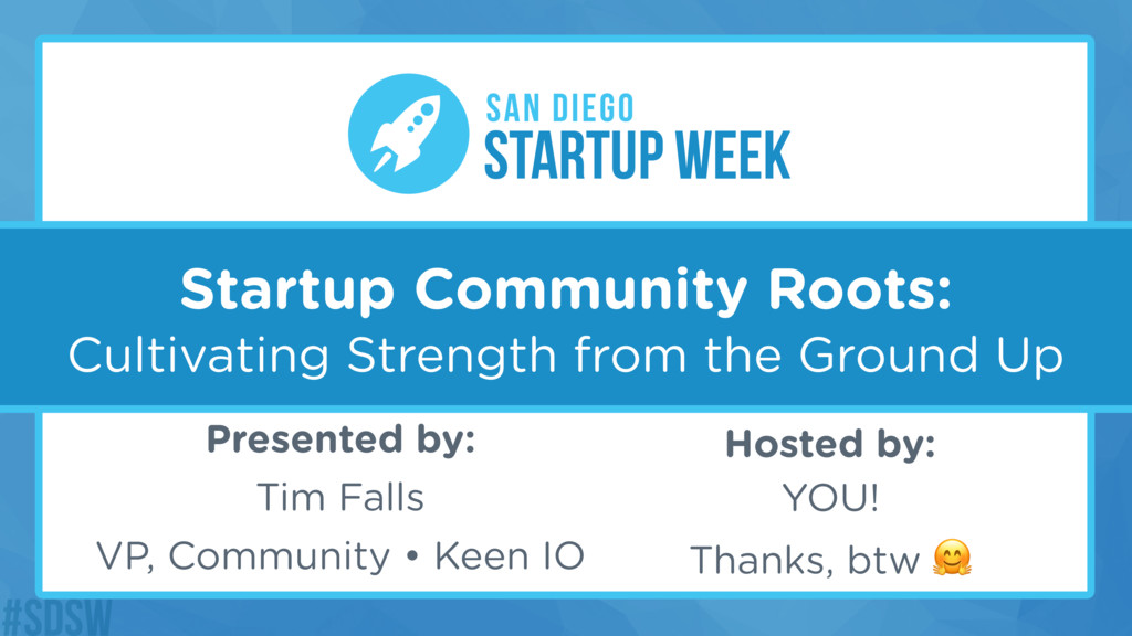 Startup Community Roots: Cultivating Strength f...