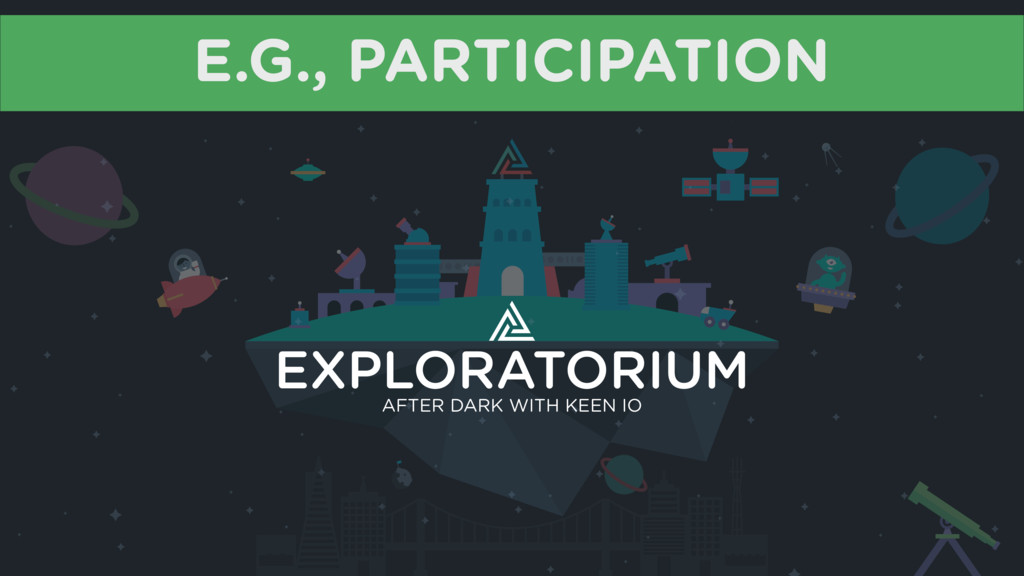 E.G., PARTICIPATION AFTER DARK WITH KEEN IO EXP...
