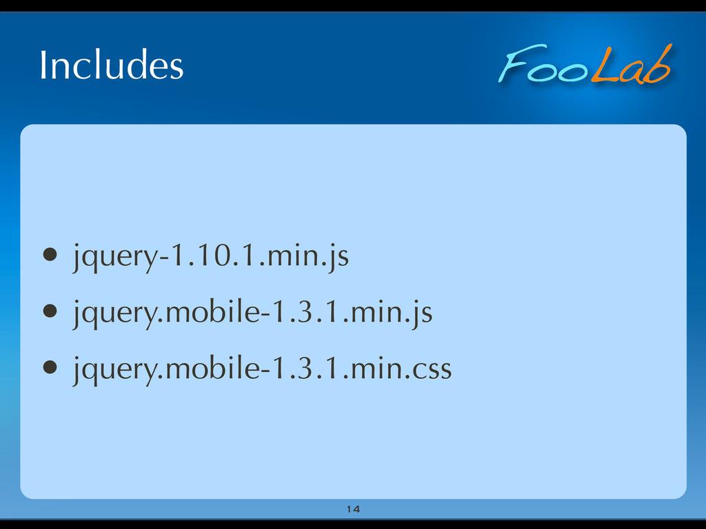 FooLab Includes 14 • jquery-1.10.1.min.js • jqu...
