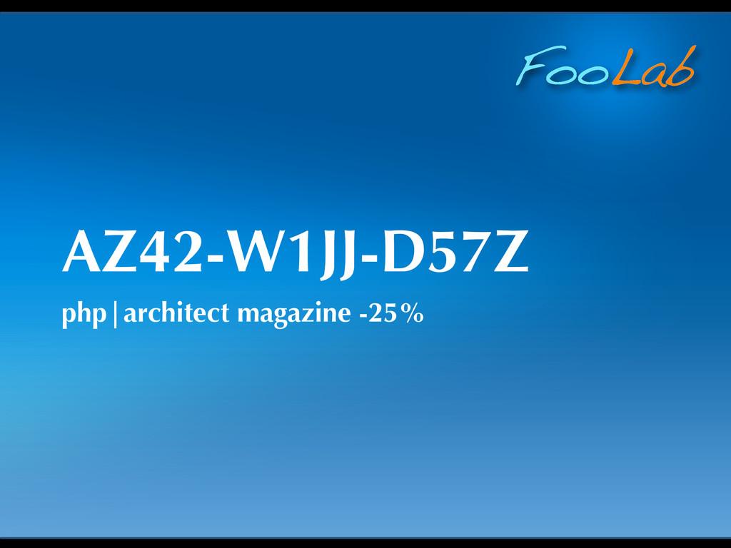 FooLab AZ42-W1JJ-D57Z php|architect magazine -2...