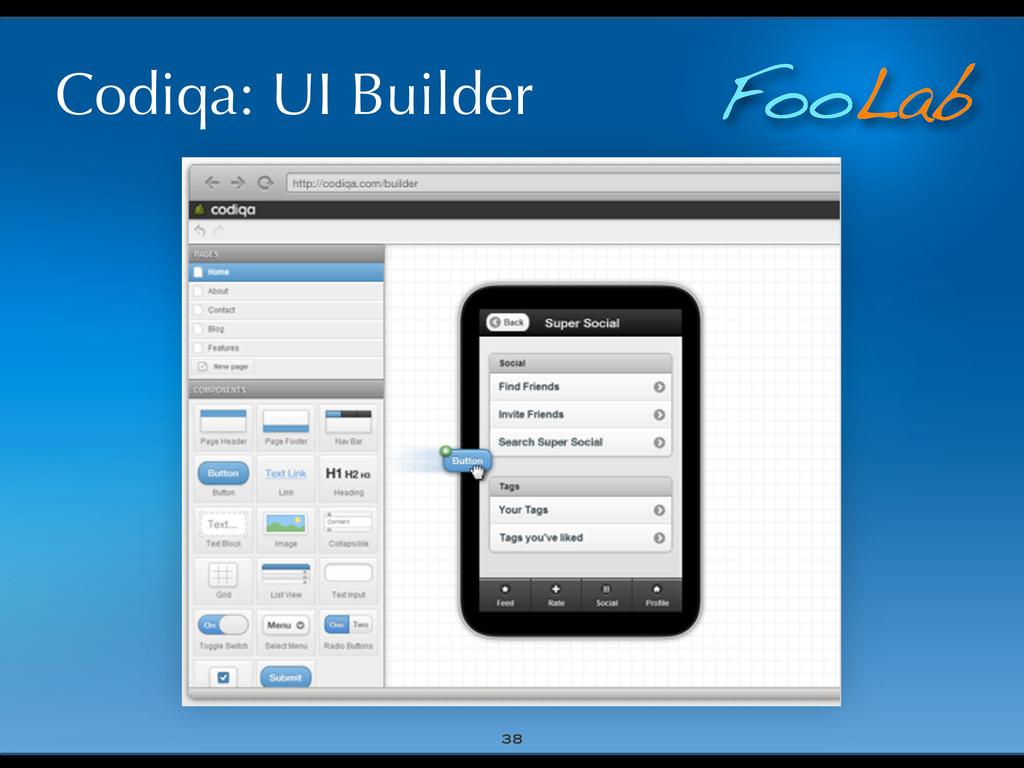 FooLab Codiqa: UI Builder 38