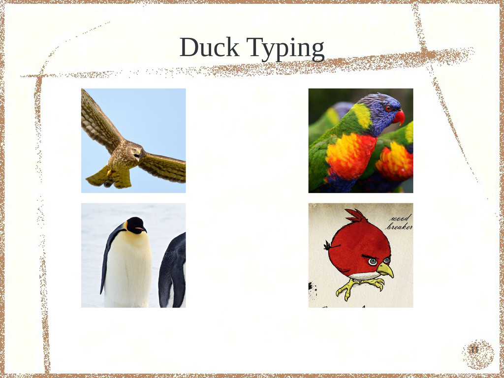 11 Duck Typing
