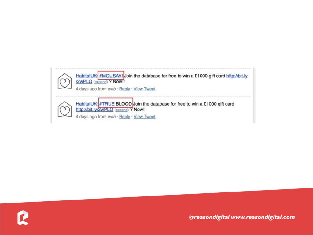 www.reasondigital.com @reasondigital