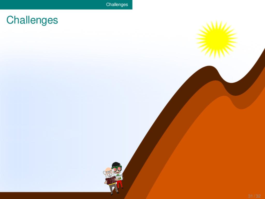 Challenges Challenges P(A|B)=(P(B|A)P(A))/(P(B)...